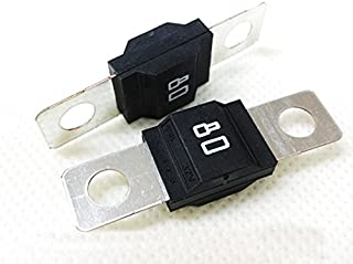 Littelfuse 0498080 Automotive Fuses Bolt-on 80A 498 Series, MIDI 32V