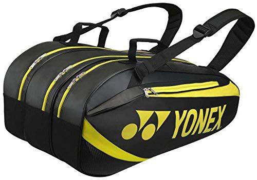 YONEX Thermobag 9er schwarz Lime Klassische Sporttaschen, 7-9 Tennisschläger