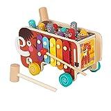 5in1Spielen Hamster Klopfspielzeug Xylophon und Hammerspiel Klavierspielzeug für...
