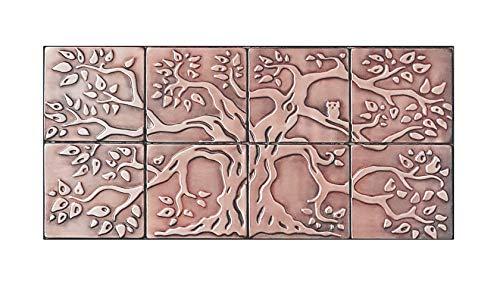 100% Copper Backsplash Tiles