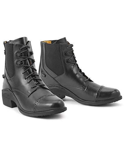 Ovation Women's Synergy Back Zip Paddock Boot Black 7 1/2 US
