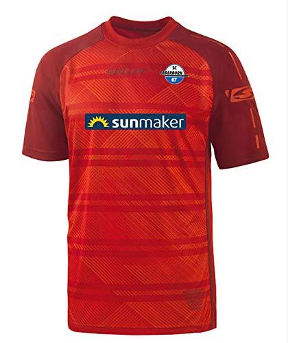 Saller SC Paderborn 07 Away Trikot 2018/2019 165 rot-dunkelrot Gr. XXL