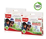 LuvLap Natural Mosquito Repellent Patches for Baby & Kids, 48 Pieces (Pack of 24 X2)