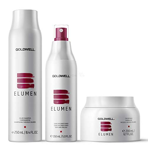 Goldwell Elumen Care Set - Shampoo Farbshampoo 250ml + Leave-In Conditioner 150ml + Mask Farbmaske 200ml