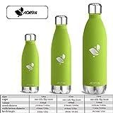 Aorin 500ml Trinkflasche (Apple Green) - 7