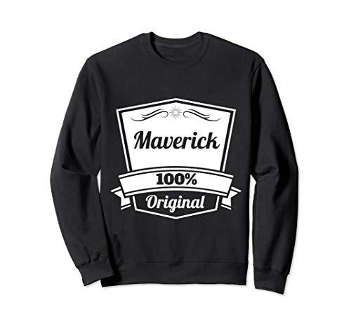 Maverick Geschenk / Maverick personalisierter Name Sweatshirt