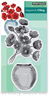"""Penny Black PB40672 Cling Stamps-Painter's Vase 3.4""""X6.5"""""""