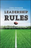 Image of Leadership Rules: How to Become the Leader You Want to Be