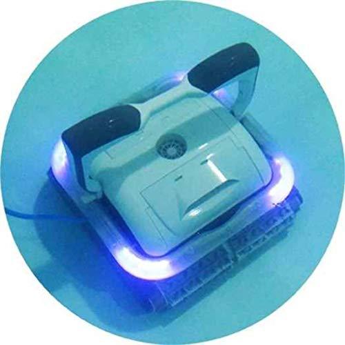 Bestway 58481 Robot électrique Raptor pour piscine, 2 moteurs fond et paroi, led multicolore