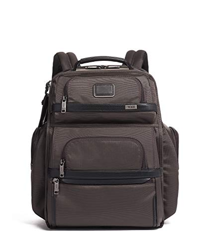 TUMI - Alpha 3 Brief Pack - 15 Inch Computer Backpack for Men and Women - Coffee