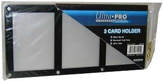 ウルトラプロ 黒枠フレーム カード3枚用スクリューダウン