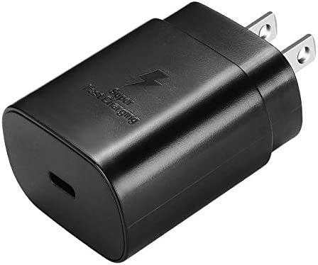 USB Type C Wall Charger Block 25W Super Fast PD Power Adapter Compatible Samsung Galaxy S21 product image