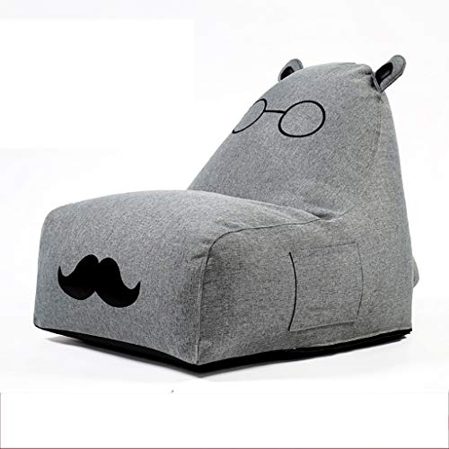 SD Bean Bag Chaise/Sac de Haricots /1 Poches/pour Enfants et Adultes/Grande Fauteuil/Pouf Poire canapé/80 * 70 * 90cm