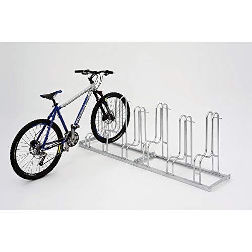 Fahrradständer - Standparker Modell 4054 mit 4 Einstellplätzen - einseitig