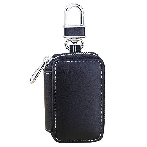JJrainning Schlüsselanhänger Herren und Damen Leder Auto Schlüsselbund Brieftasche Schlüssel Aufbewahrungsbox Butler Autoschlüssel Tasche