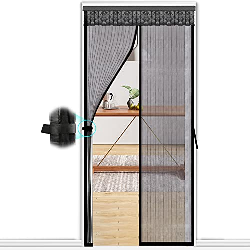 Upgraded Magnetic Screen Door by Kingterence