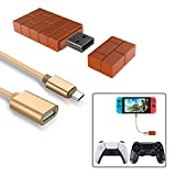 Wireless Controller Adapter for Nintendo Switch,Windows,Mac & Raspberry Pi with a OTG Cable