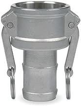 JGB Enterprises 030-03048-848CI Aluminum Type C Cam and Groove Fitting, 3