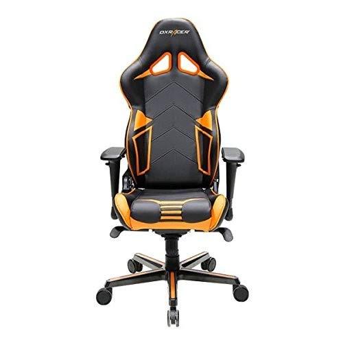 DXRacer Gaming Stuhl, OH/RV131/NO, R-Serie, schwarz-orange, das Original von DX Racer