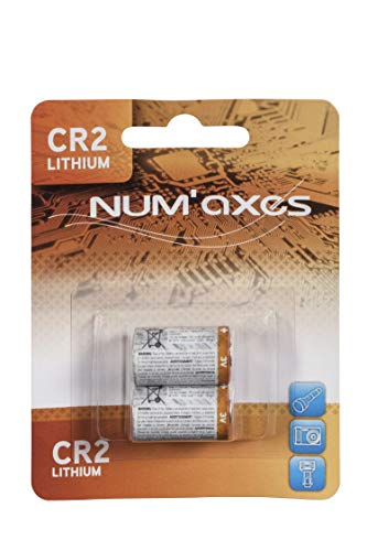 Blister 2 Piles CR2 Lithium 3V