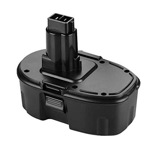 DOSCTT Batteria Reemplazo per Dewalt 18V 3,0Ah NIMH Batteria DE9098 DE9095 DE9094 DE9096 DC9096 DE9039 DW9096 DW9095 DW9098 DE9503