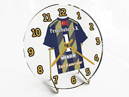 sportoto Türkei Süper Lig–Türkisch Fußball Shirt Desktop Uhren–Jeder Name, beliebige, jedes Team, kostenlose Personalisierung. FC FENERBAHCE