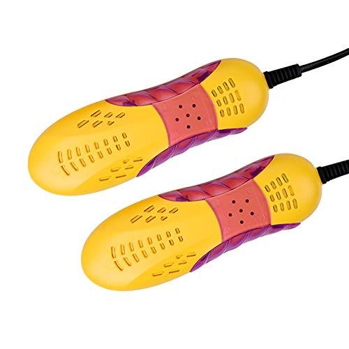 SCOBUTY Schuhtrockner Elektrisch, Schuhwärmer, Stiefeltrockner, Mini Skischuhtrockner, Deodorant Entfeuchtung, Schuhtrockner für Wanderschuhe oder auch Skischuhe, Skischuhe, Warme Schuhe, Laufschuhe
