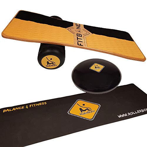 RollerBone Fitbone Pro Set + Softpad + Carpet / Balance Board