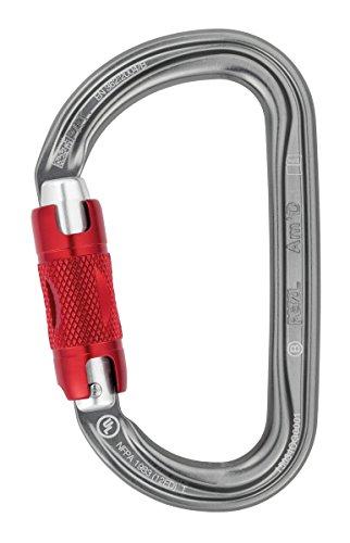 Petzl m39a SL nuovo SM D moschettone asimmetrico, ultraleggero, Screw-Lock, Giallo