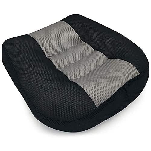 OLDSAN Erwachsener Sitzerhöhung für Auto Kindersitzerhöhung Beifahrer Atmungsaktive rutschfeste 3D-Sitzkissen mit praktischem Griff 15.7 x 15.7 x 4.7