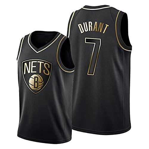 GFQTTY Camisetas De Baloncesto para Hombre Nets, Camiseta De La NBA Brooklyn Nets # 7 Camisetas De Baloncesto Swingman De Malla Transpirable Y Ligeras Bordadas Resistentes Al Desgaste