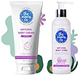 Product 1: Deeply nourishes the skin : The Moms Co. Natural Baby Cream is enriched with Organic Rice Bran Oil which is packed with vitamins, tocopherols, and tocotrienols that help protect and hydrate the skin. Product 1: Hypoallergenic and mild : Th...