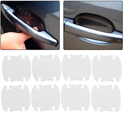 8x Schutzfolie für Autogriff-Mulde/Türgriffmulde Schutz Transparent für Auto PKW KFZ