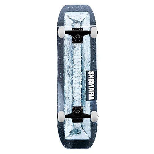 Blocco di comando SK8MAFIA Skateboards skateboard completo nero 21,6cm