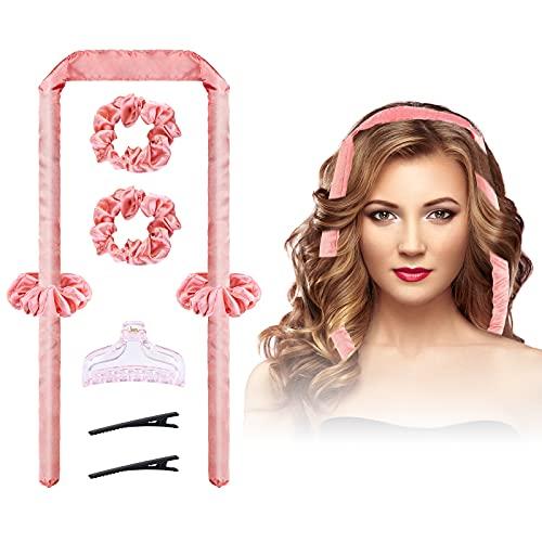 Heatless-Hair-Curler, Upgraded Segmented Design No...