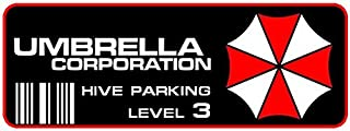 Umbrella Corporation Parking Decal
