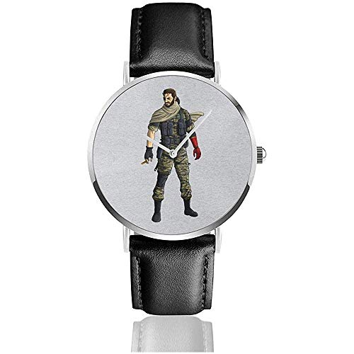 Reloj de Pulsera Unisex Metal Gear Solid V Venom Snake Relojes Reloj...