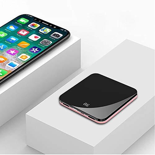 Baiyi krachtige mobiele stroomvoorziening, creatieve, draagbare ultradunne mini-vierkante spiegel, die de schat van het draadloos opladen, mobiele stroomvoorziening opladen