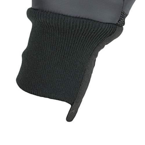 SEALSKINZ Unisex Waterproof All Weather Lightweight Insulated Mitten, Black, 2X-Large