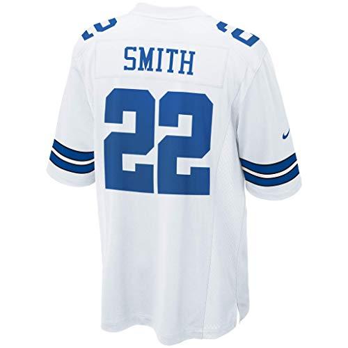 Nike NFL Dallas Cowboys Game Jersey, Herren, Spiel, Weiß, XX-Large