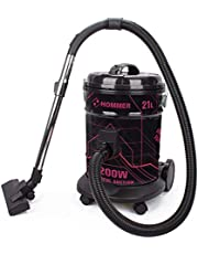 Hommer 21 L Drum Vacuum Cleaner -Multi Color, 2200 Watts - HSA211-06