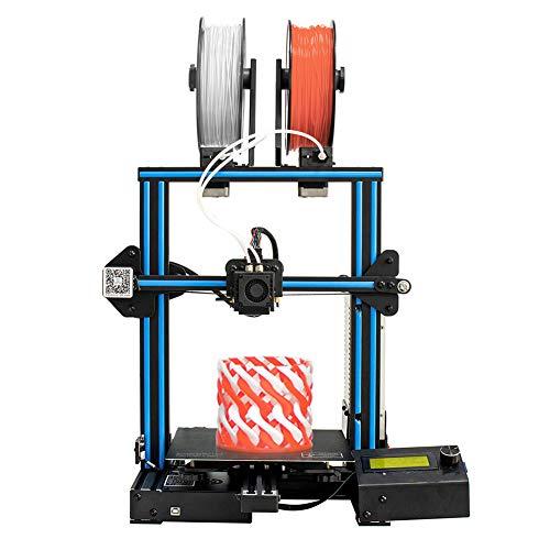 Imprimante 3D, impression couleur mixte, substrat en aluminium, bouton de redémarrage, connexion WiFi. Consommables PLA, ABS, HANCHES, BOIS, PCPVA, PETG, ETC taille d'impression (220*220*260mm)