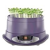 QQSS Germinador Automático, Pantalla LED, Control de Tiempo, Fabricante Automático de Brotes de Frijoles, Materiales de PP, Herramienta de Cultivo de Semillas de Uso Doméstico (2 Capas)