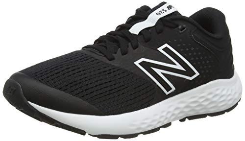 New Balance 520v7, Zapatillas para Correr Mujer, Black/White, 35 EU