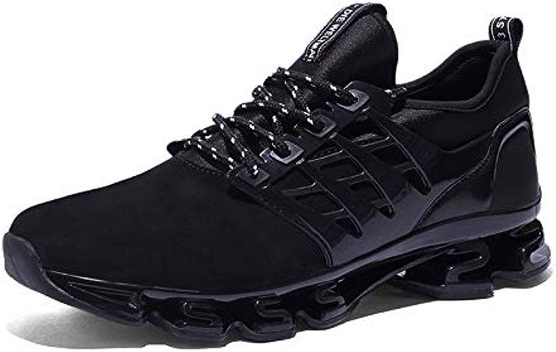 LOVDRAM Chaussures Hommes Chaussures De Course D'été pour Hommes, Couple Féminin, Absorption du Choc, Chaussures De Sport, Chaussures De Marée, Chaussures De Sport
