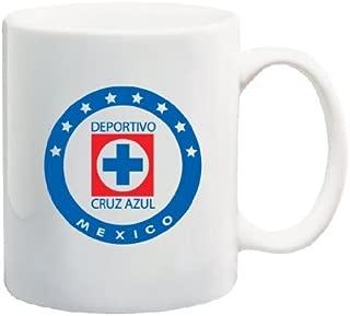 Cruz Azul Futbol Club Liga MX FMF Logo Coffee Mug Futbol Mexico Souvenir