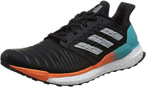 adidas Solar Boost M, Zapatillas de Running para Hombre, Negro (Core Black/Grey Two F17/Hi-Res Aqua), 41 1/3 EU