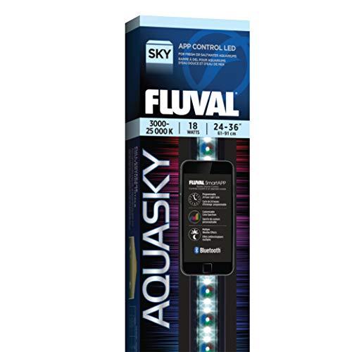 Fluval Aquasky 2.0 LED Aquarium Lighting, 18 Watts, 24-36 Inches