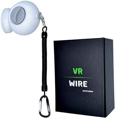 VR Wire - VR Cable Management with 15 ft. Range, Retractable VR Pulley System for Wall or Ceiling