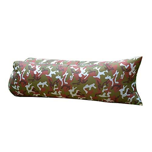 Opblaasbare Lounger, Air Sofa Lazy Carry Portable Waterdichte Slaapzak Ultra-Light Bed Voor Kamperen, Wandelen, Zwembad, Strand, Backyard, Reizend